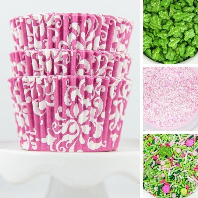 Cactus Cupcake Decorating Kit, DIY Cupcake Kit