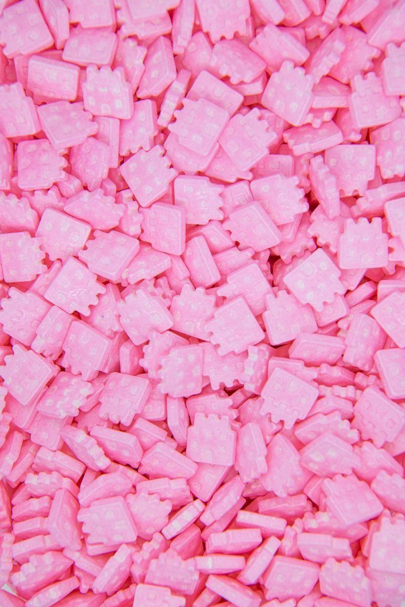 Castle Sprinkles | Candy Castle Sugar Shapes, Princess Castle Candies