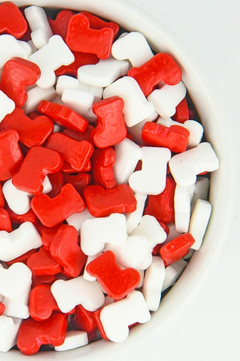 Christmas Stockings Sprinkles | Candy Christmas Stocking Candies