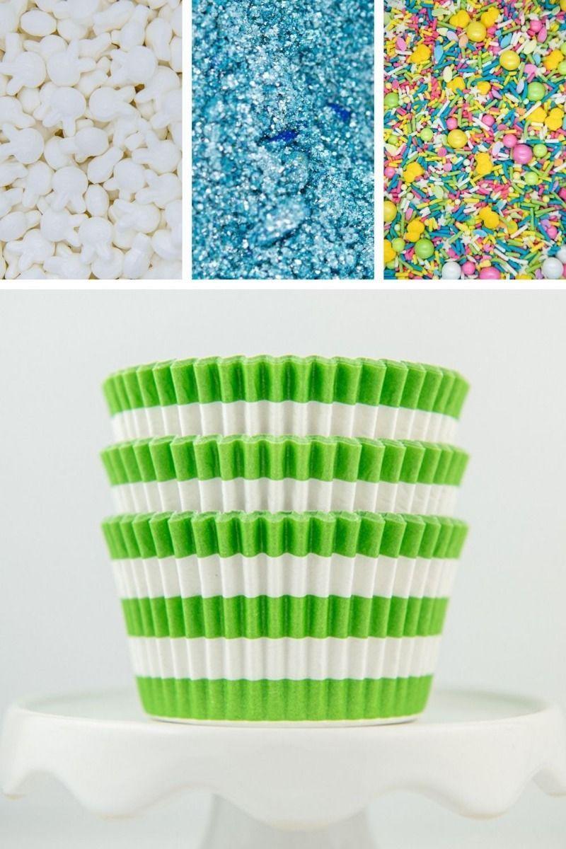 Easter Cupcake Decorating Kit, DIY Cupcake Kit for Bakers