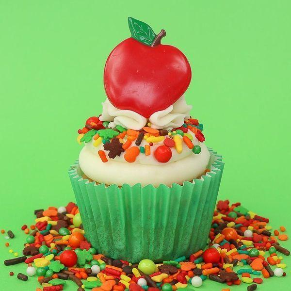 Fall Harvest Cupcakes - Fall Sprinkles