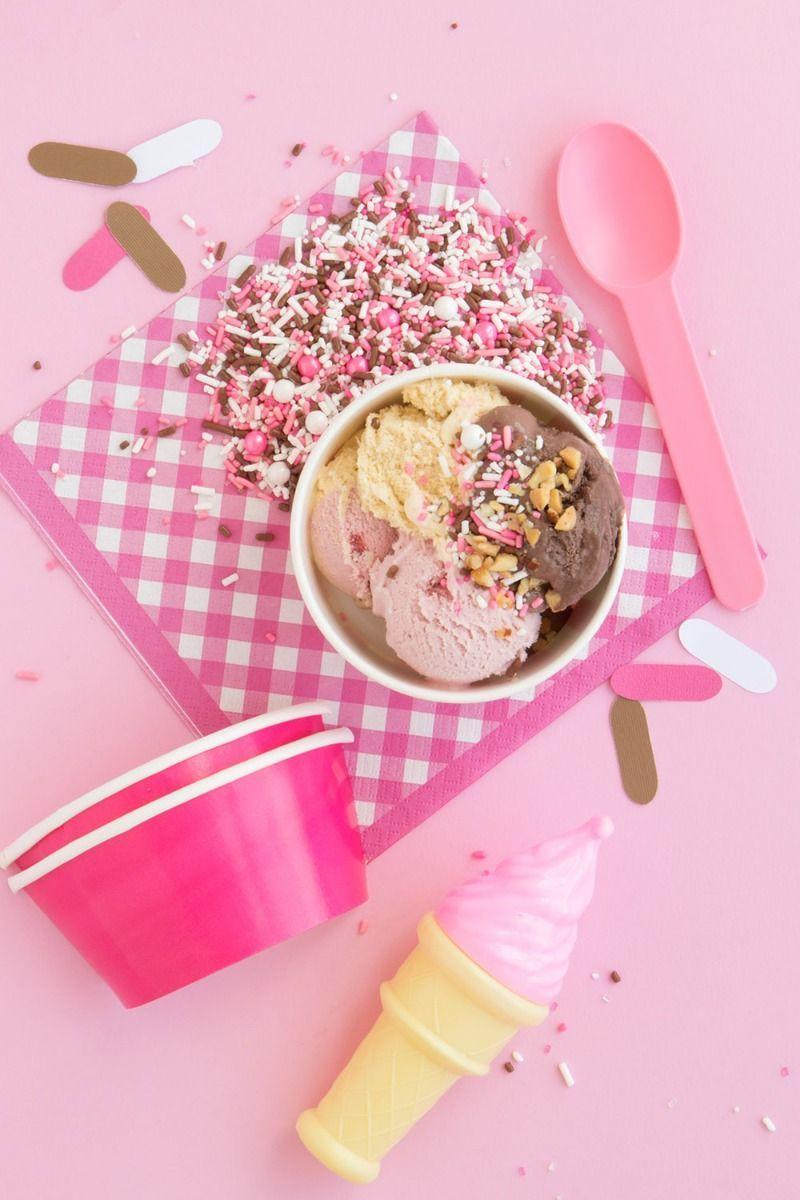 Neapolitan Sprinkles Mix | Pink and Brown Sprinkle Medley, Edible Blend
