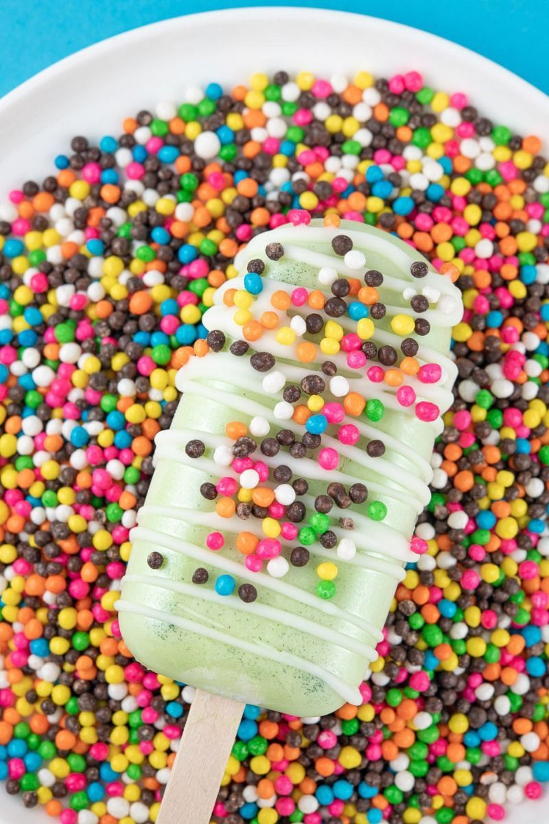 Summer Social Crispy Sprinkles Mix | Ice Cream Party Sprinkle Medley, Edible Blend