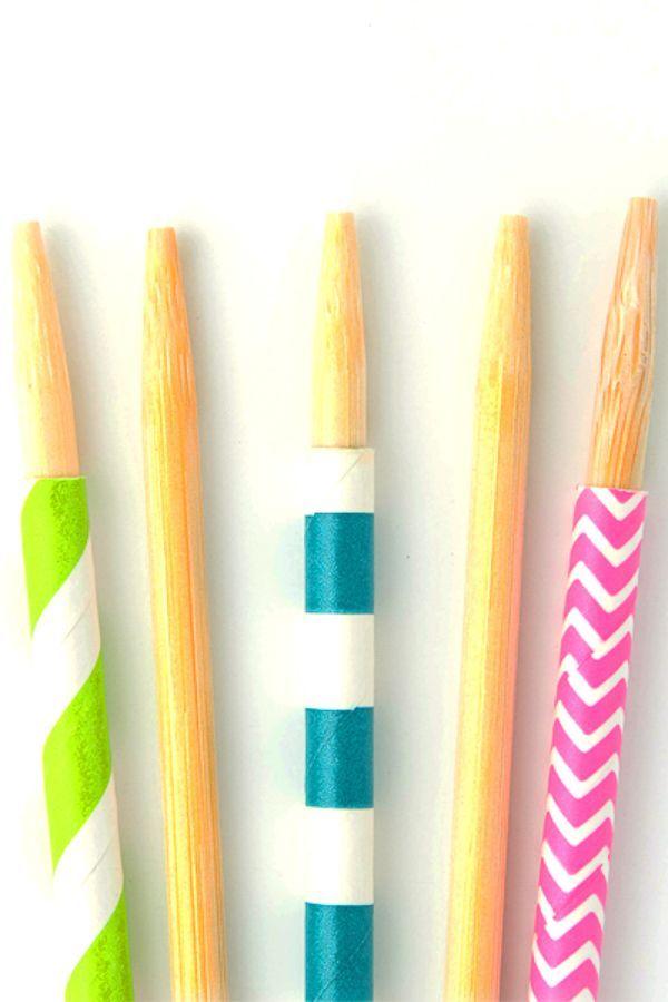 Candy Apple Sticks - Wooden Caramel Apple Sticks - Sticks For Candy Apple Treats