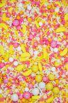 Pink Lemonade Sprinkles Mix  Sweet Tart Sprinkle Medley, Bulk Lemonade Party Blend