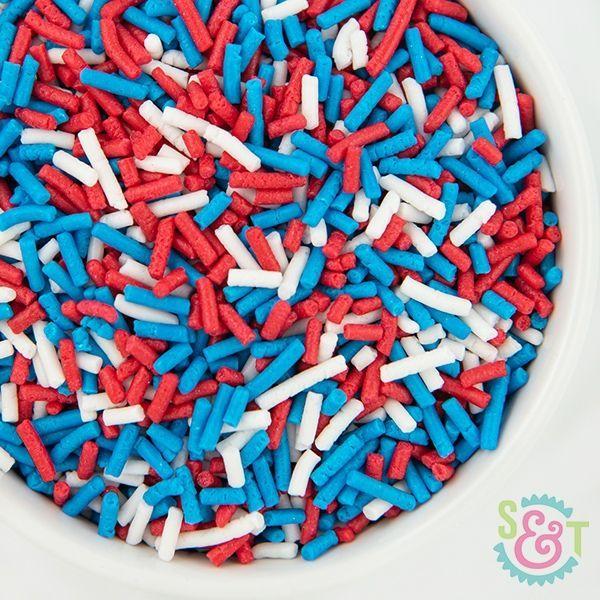 Sprinkles Mix: Patriotic Jimmies