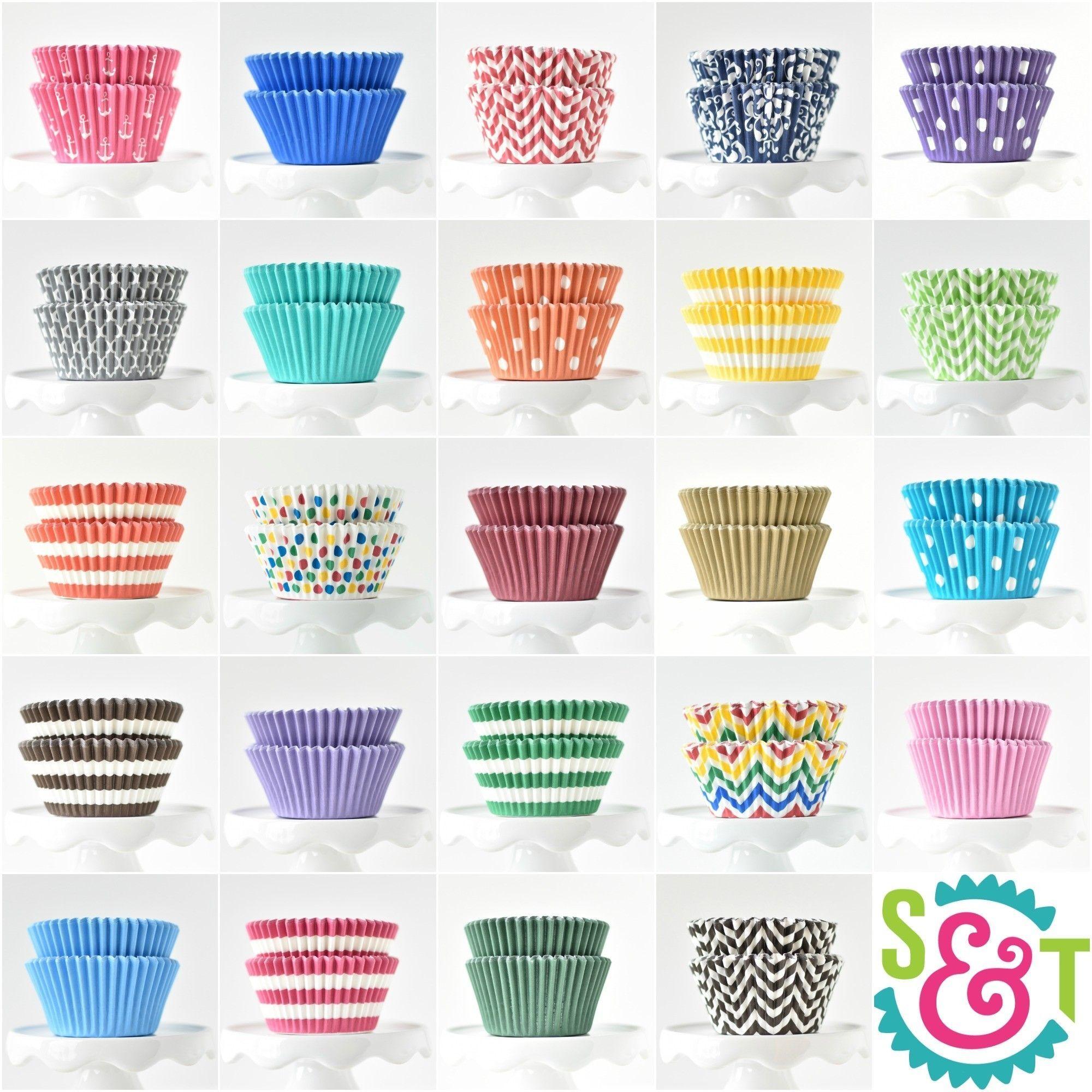 Assorted Bulk Cupcake Liners