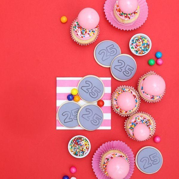 Bubblegum Party Ideas - Rainbow Bright Sprinkles