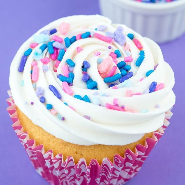 Cotton Candy Cupcakes - Cotton Candy Sprinkle Mix