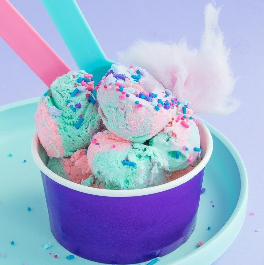 Cotton Candy Ice Cream- Cotton Candy Sprinkle Mix
