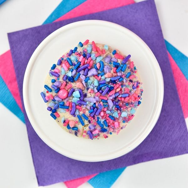 Cotton Candy Sprinkles Sugar Cookies