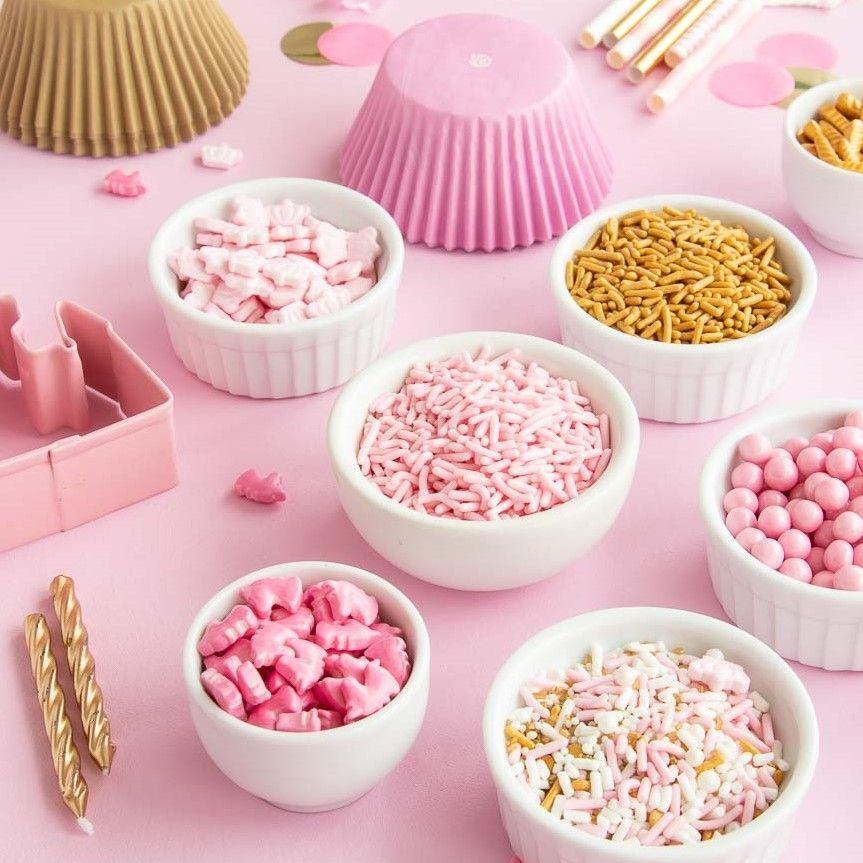 Pink Unicorn Head Candy Sprinkles - Unicorn Sprinkles - Unicorn Candy Shapes