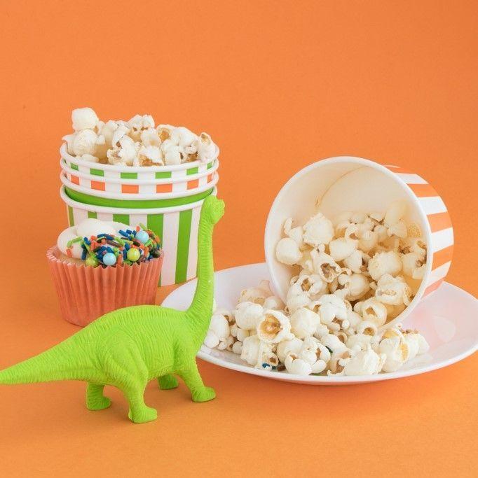 Stripe Ice Cream Cups- Dinosaur Party