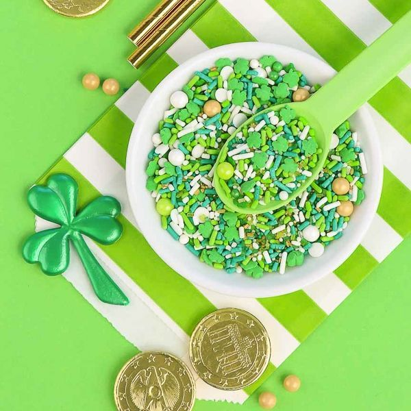 Lucky Charm Sprinkles - St. Patrick's Day Party Ideas