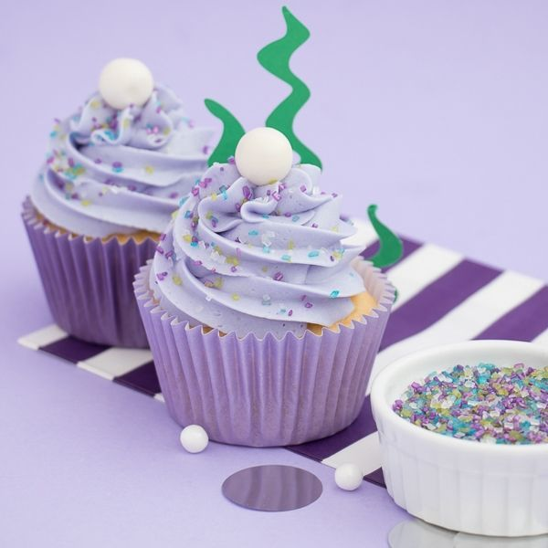 Mermaid Cupcakes - Mermaid Party Ideas