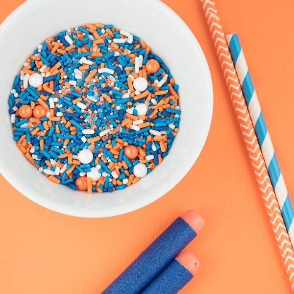 Nerf Party Sprinkles - Nerf Party Ideas