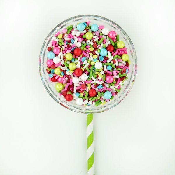 Lollipop Sprinkles - Modern Cake Sprinkles