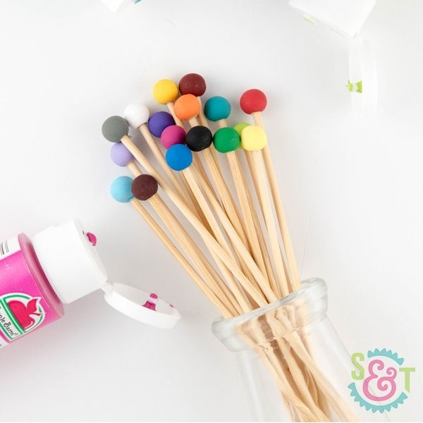 Wooden Rock Candy Sticks