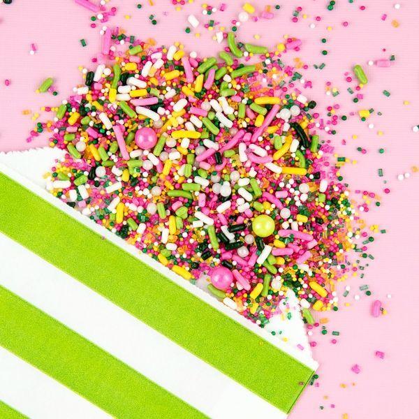 Spring Sorbet Sprinkle Mix - Summer Sprinkles - Tropical Party Sprinkles