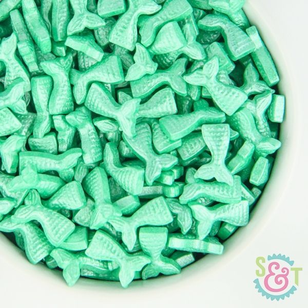 Candy Sprinkles: Mermaid Tail Teal