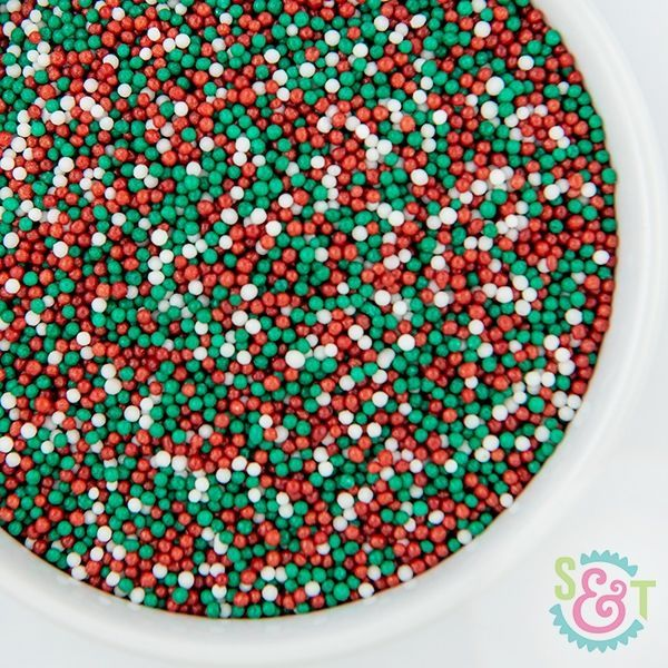 Sprinkles Mix: Christmas Nonpareils