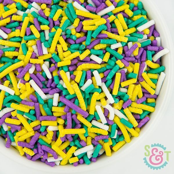 Sprinkles Mix: Mardi Gras Jimmies