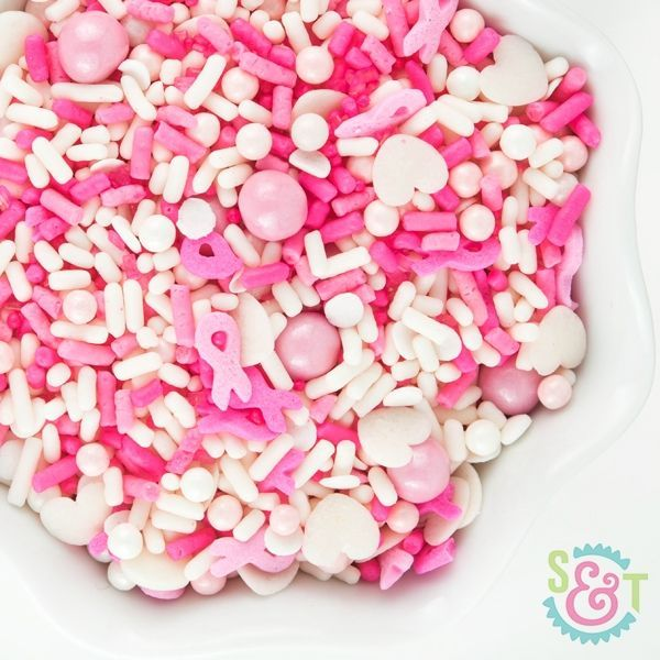 Sprinkles Mix: Pink Ribbon