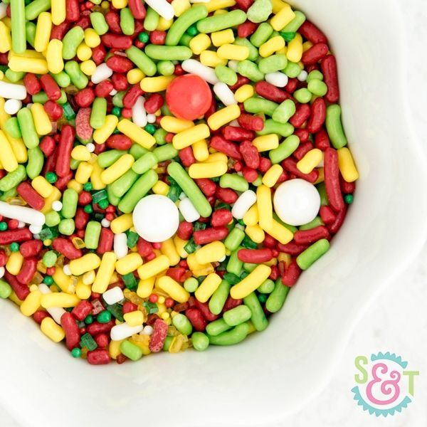 Fiesta Party Sprinkles - Cinco De Mayo Party Sprinkles - Taco Bout It Sprinkle Mix