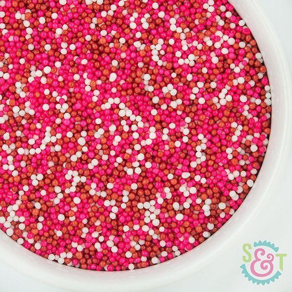 Sprinkles Mix: Valentine Nonpareils