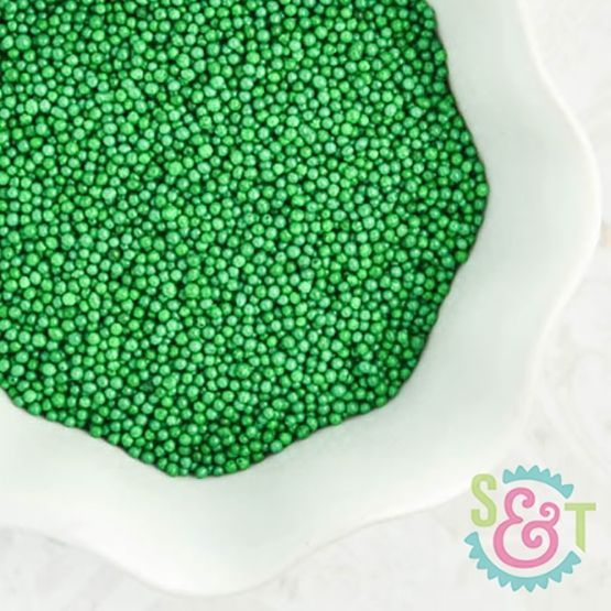 Nonpareils Sprinkles: Green