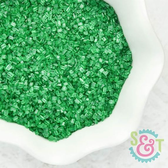 Chunky Sugar Crystals: Green