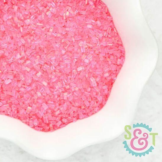 Chunky Sugar Crystals: Pink