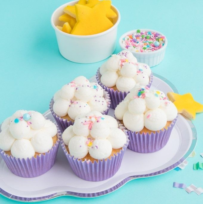 Solid Light Purple Cupcake Liners- Light Purple Baking Cups- Solid Color Cupcake Cups
