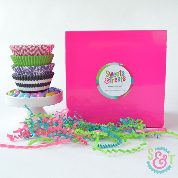 Assorted Cupcake Liner Gift Box