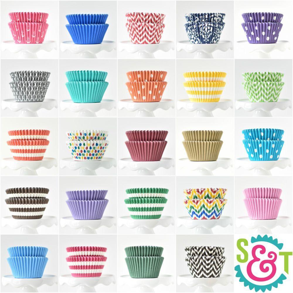 Bulk Cupcake Liners - Bulk Baking Cups - Wholesale Cupcake Cups