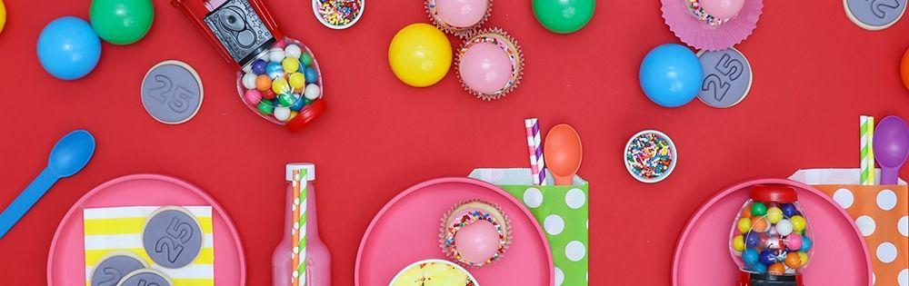 Bubble Gum Party Supplies