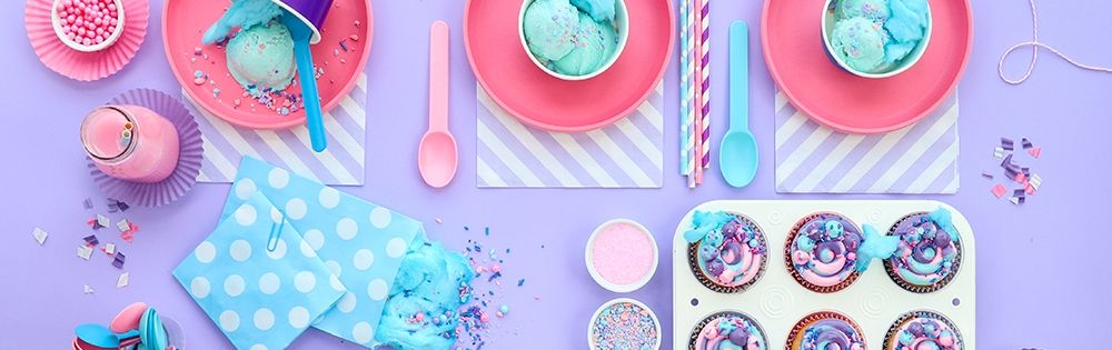 Cotton Candy Party Supplies
