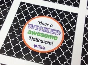 Sweets & Treats Boutique - Wicked Awesome Halloween Tags